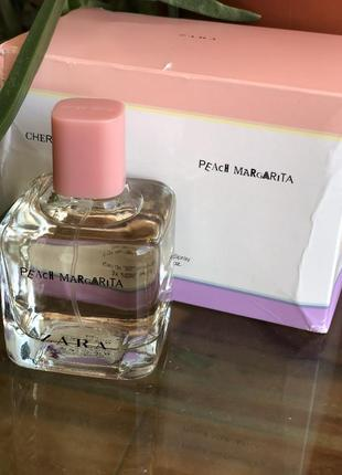 Духи zara peach margarita /парфюм/туалетная вода/туалетна вода