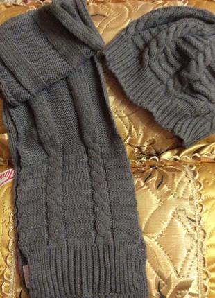 Набор (шапка+ шарф)
