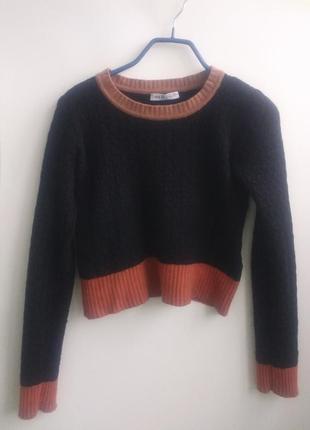Очень красивый укороченный свитер see by chloe