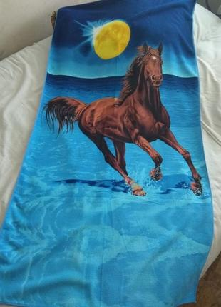 Яркое красивое пляжное полотенце из микрофибры !