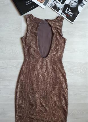 Золотое платье jane norman /2я вещь в подарок