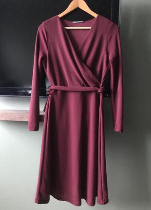 Трикотажное платье mango1