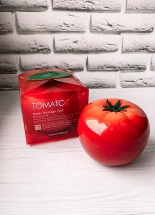 Tonymoly tomatox magic massage pack - маска для лица с эффектом отбеливания.