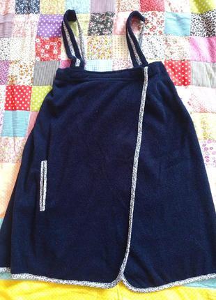Полотенце -сарафан для сауны
