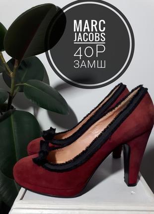 Marc jacobs замшевые туфли