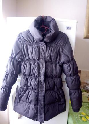 Куртка зимняя коричневая