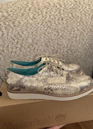 Золотистые ботинки, внутри мятная кожа ! мягкие и удобные