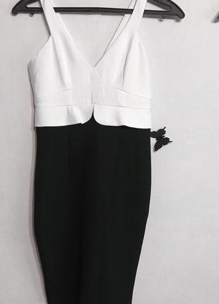 Платье миди zara basic
