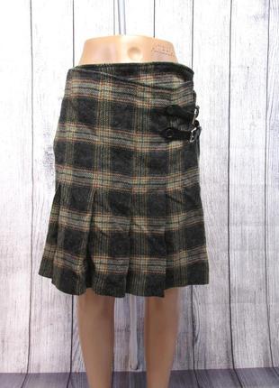 Роскошная юбка 100% шерсть