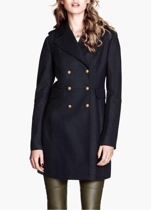 Эксклюзивное пальто, шерсть h&m