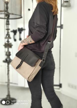 Mark o''polo 100,% оригинальная брендовая сумка. унисекс.