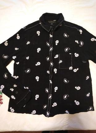 Укороченная рубашка от topshop