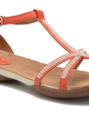 Кожаные сандали clarks artisan.