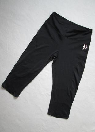 Спортивные базовые черные лосины леггинсы crivit sports.