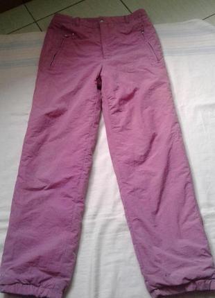 Лыжные термо штаны рост 164 см