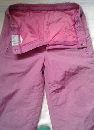 Лыжные термо штаны рост 164 см5