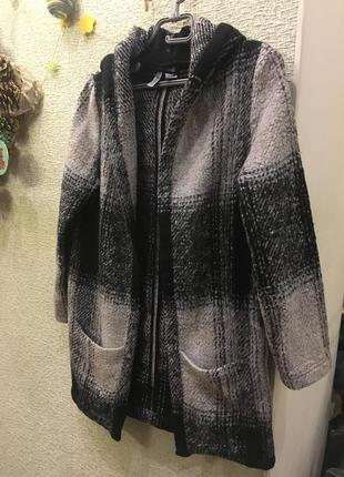 Новое вязаное пальто h&m