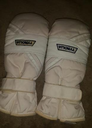 Теплющие перчатки на лыжи размер м