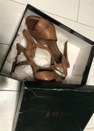 Ralph lauren босоножки туфли каблуки оригинал