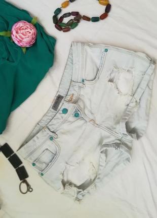 Джинсовые шорты от bershka2 фото