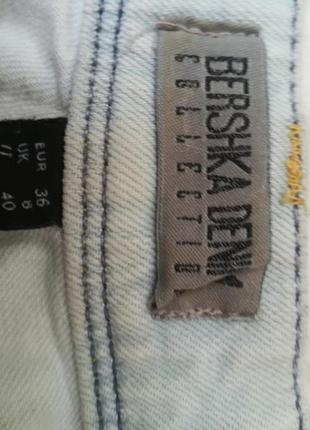 Джинсовые шорты от bershka4 фото