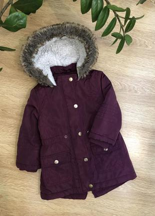 Демисезонная курточка/парка 2-3 года