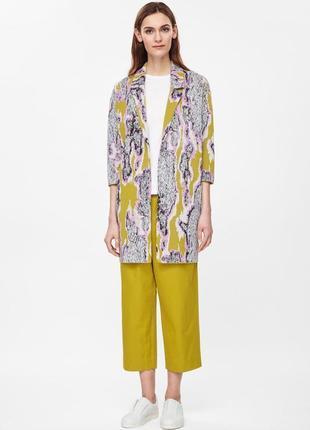 Cos кардиган жакет длинный пиджак кофта размер м