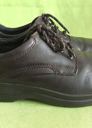 Туфли кожаные hotter англия р.41. стелька 27см