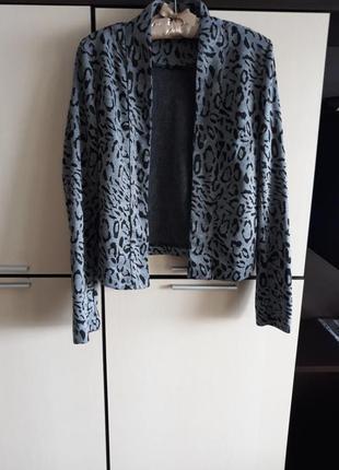 Пиджак/ кофта звериный принт