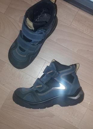 Фирменные зимние термо ботинки ecco gore-tex рр 30 в идеале