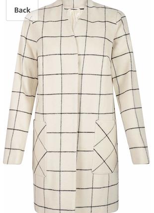 Стильное шерстяное пальто marks & spencer.