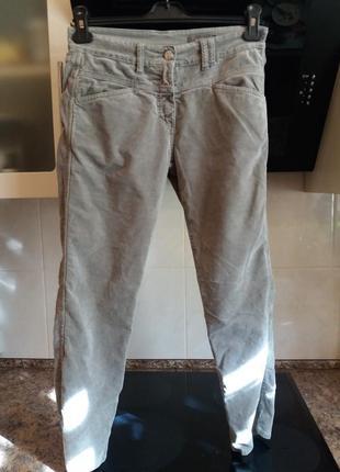 Велюропые джинсы...стрейч  -cloed           италия-высокая посадка -