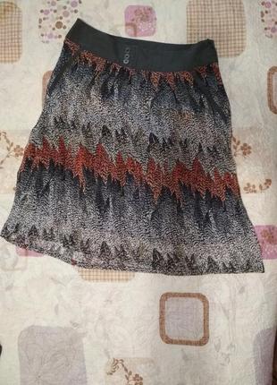 Легкая воздушная рябая юбка от tom tailor
