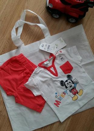 Комплект disney (футболка та шорти)