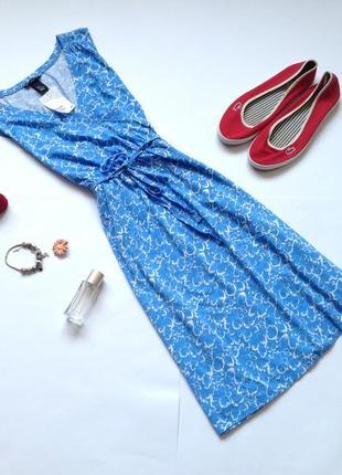 Летнее платье h&m размер м l xl