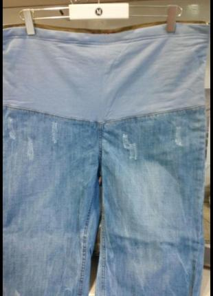 Шорты джинсовые для беременных р 48-50