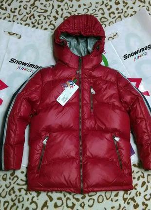 Теплый зимний пуховик snowimage junior куртка