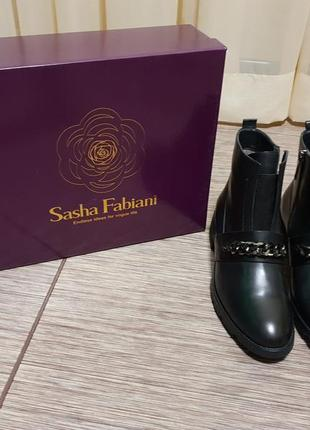 Стильные, качественные, трендовые ботинки sasha fabiani
