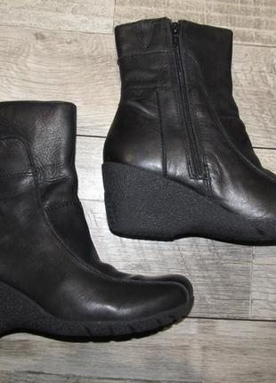 Натуральная кожа ботинки hush puppies р.41 стелька 26,5 см
