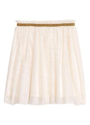 Пышная фатиновая юбка h&m