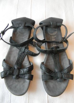 Кожаные босоножки сандалии от bama р.37 ст.24 см