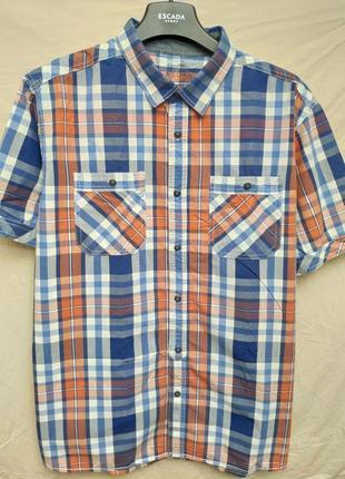 Рубашка с коротким рукавом casual от george