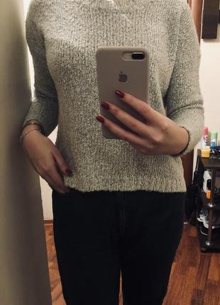 Тёплый мягенький ворсистый свитерок 💥3