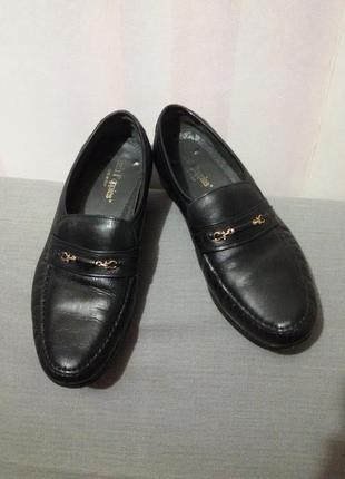 Очень мягкие туфли из натуральной кожи (ст.27,5 см) италия