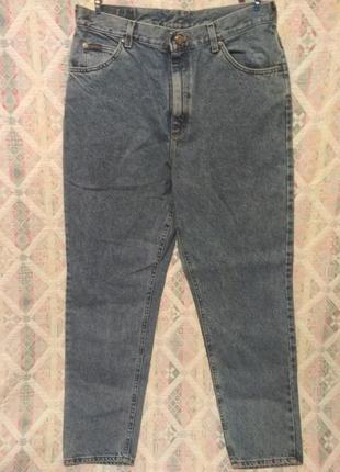 Актуальные джинсы с высокой посадкой     момы    mom