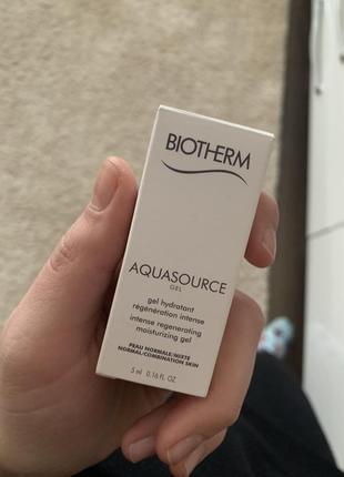 Biotherm интенсивный увлажняющий крем aquasource для нормальной и комбинированной кожи