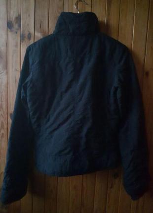 Распродажа супер цена весенняя черная базовая объемная куртка с высоким воротником