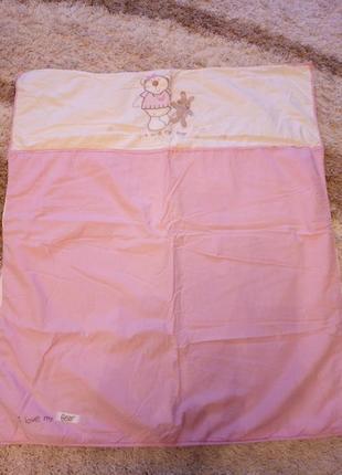 Лоскутное одеяло для девочки bruin
