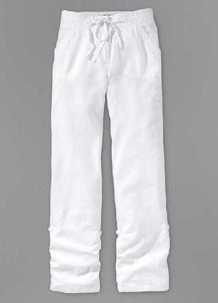 Фирменные льняные брюки 2 в 1 от tcm cthibo.германия.оригинал