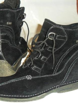 Цена снижена! ботинки del-tex,кожа,размер38